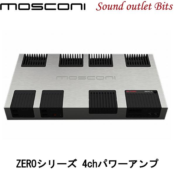 【MOSCONI】モスコニGLADEN ZERO4 100W×2ch+200W×2chパワーアンプ