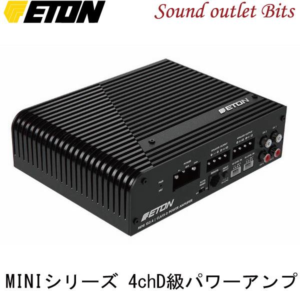 【ETON】イートンMINI-150.4 100W×4ch D級パワーアンプ