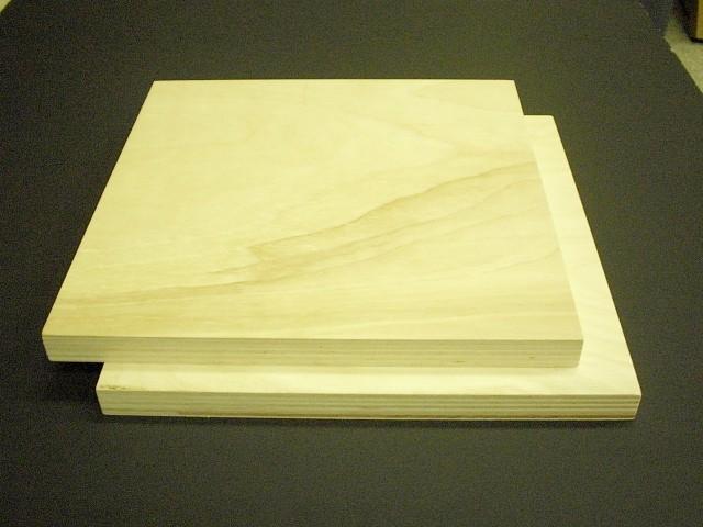 究極の素材 好評 高音質バッフルボード素材樺桜合板15mm厚 定番から日本未入荷 2枚セット