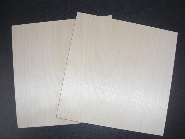 売り込み バッフル用高級素材 超目玉 ロシアンバーチロシア白樺耐水合板300×300×9mm2枚セット