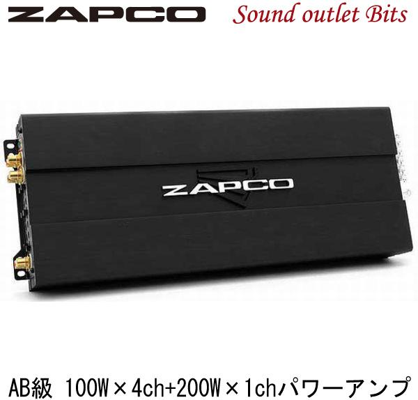 【ZAPCO】ザプコST-5XII AB級 5chパワーアンプ100W×4ch+200W×1ch