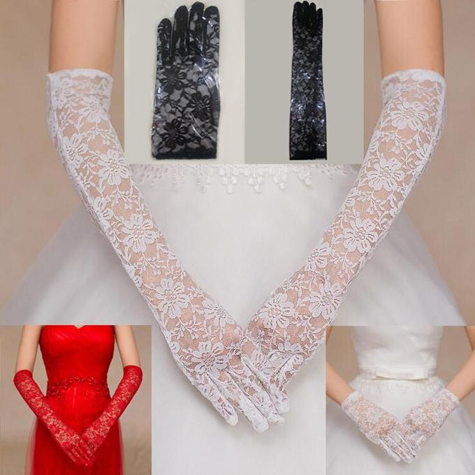 シックでお姫様感満載なショート ロンググローブ プリンセスラインのドレスによく合う☆彡 ショート ウェディンググローブ 贈答品 ウエディンググローブ gvl27yh ブライダル小物 限定品 3カラー 2丈 ウェディング小物 レース