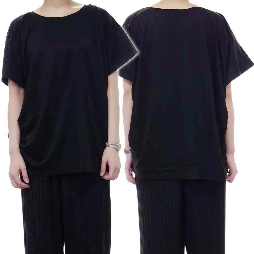 (タトラス)TATRAS レディースラウンドネックTシャツ CATTOLICA / LTK19S8013 ブラック