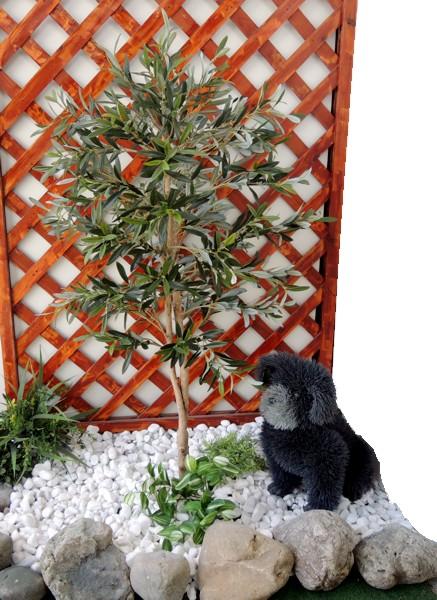 オリーブの人工観葉植物 販売 おしゃれ DIY 店舗装飾 新作 大人気 フェイクグリーン オリーブの木 高さ100cm 造花 人工観葉植物 フェイク 小型 インテリア 装飾 造園 ガーデニング 和風 庭園 洋風 ファクトリーアウトレット 坪庭