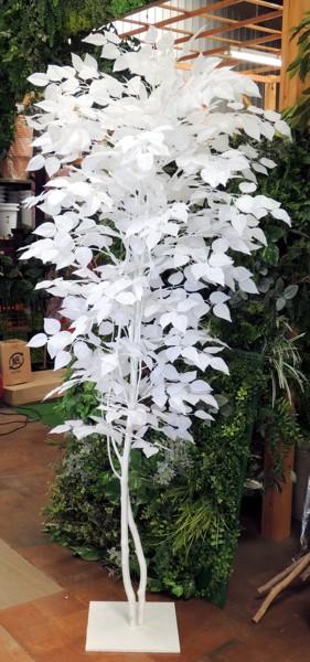 ホワイトバーチ 180cm (人工 観葉植物 造花 コンパネ 白樺 造木)180cm