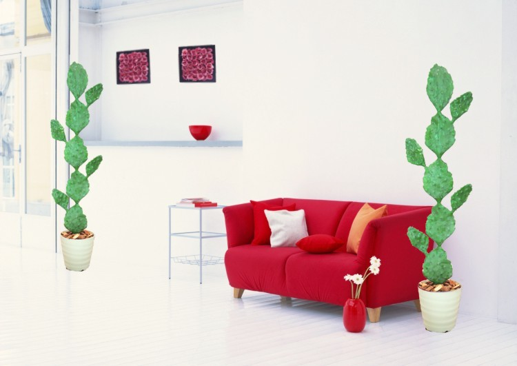 170 cm is the prickly pear cactus (artificial flowers and artificial plants and prickripeacactus)