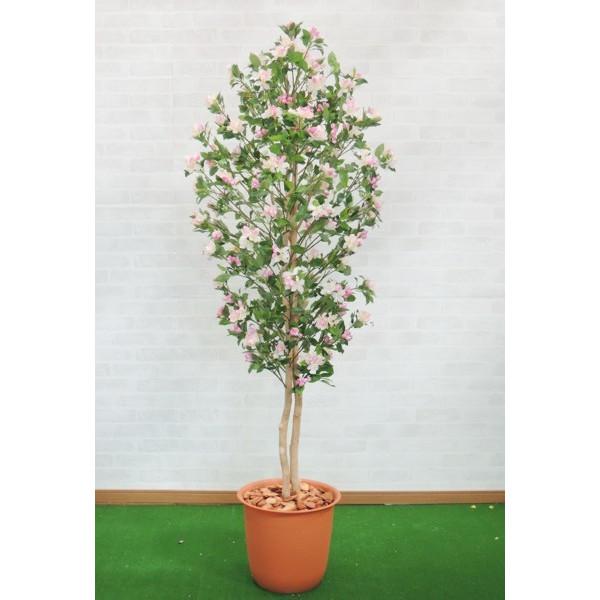りんごの木 150cm (リンゴ 人工観葉植物 インテリア 造花 1.5m)