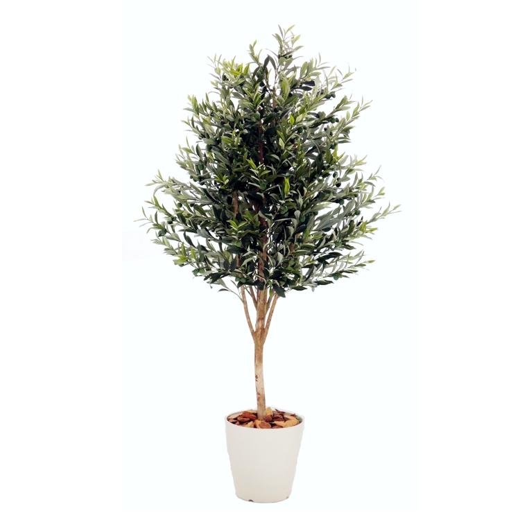 造花 インテリア 今ダケ送料無料 観葉植物 人工樹木 オリーブA 180cm 人工植物 お洒落 大型 1.8m フェイクグリーン ナチュラル 新商品!新型