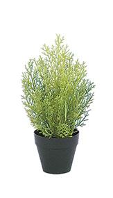 造花 物品 インテリア 観葉植物 人工樹木 クレストツリー ライトグリーン ミニ 屋外使用可能 フェイクグリーン 30cm 人工 !超美品再入荷品質至上!