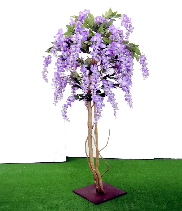 藤の木 高さ130cm(造花 インテリア グリーン 観葉植物 室内おしゃれ 植栽 造作 1.3m)
