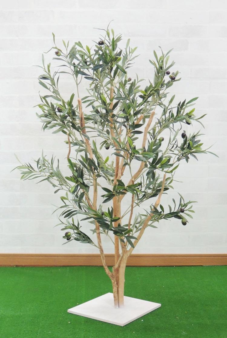 造花 インテリア 観葉植物 北欧風 ナチュラル オリーブ 店舗装飾 高品質新品 オリーブ株立ち フェイク 室内装飾 0.9m 高さ90cm 人工観葉植物 全商品オープニング価格 おしゃれ 作り物 樹木