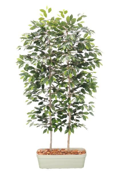 ベンジャミンパーテーション180cm(間仕切 フェイク 造花 インテリア 人工観葉植物 1.8m 仕切り おしゃれ 室内装飾 フェイク 大型)