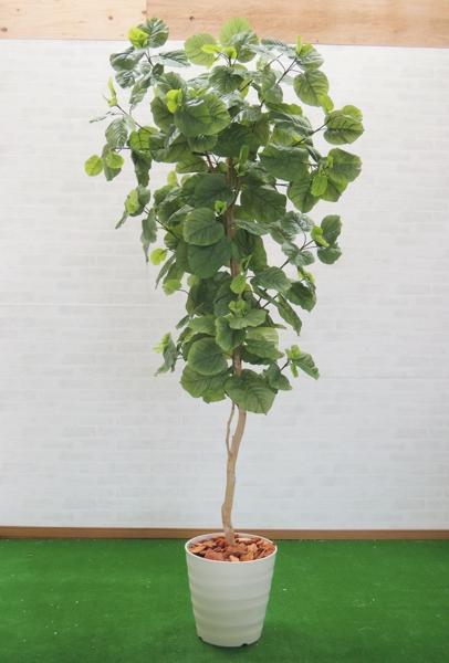 造花 インテリア おしゃれ 室内 簡単 鉢 作り物 フェイク グリーン メーカー公式 プランツ 2.1m 大型 観葉植物 ディスプレイ 装飾 店舗 店 210cm 人工 ウンベラータ