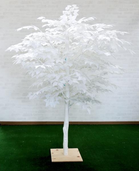 白い木 高さ180cmホワイトバーチ(白樺 立ち木 人工観葉植物 造花 樹木 造木)