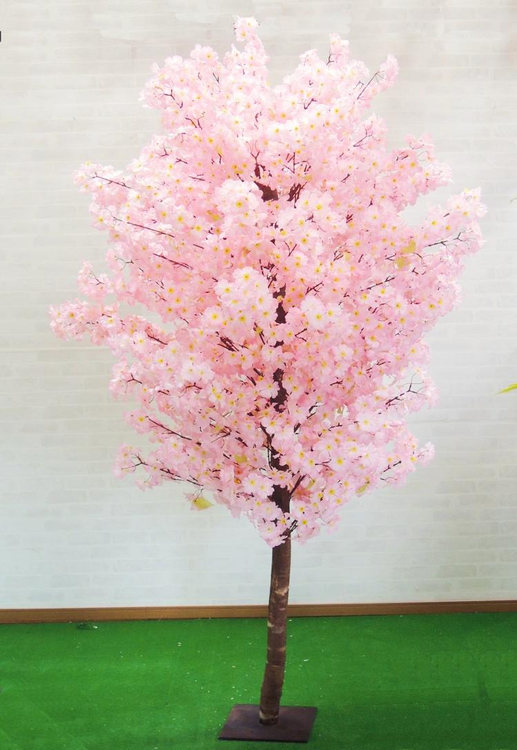 造花 サクラ ピンク 人工観葉植物 インテリア おしゃれ 室内 大型 桜 メーカー公式 作り物 樹木 飾り フェイクグリーン 210cm 春 マーケット