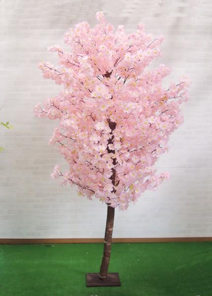 桜 180cm (造花 インテリア 観葉植物 人工 サクラ 店舗装飾)
