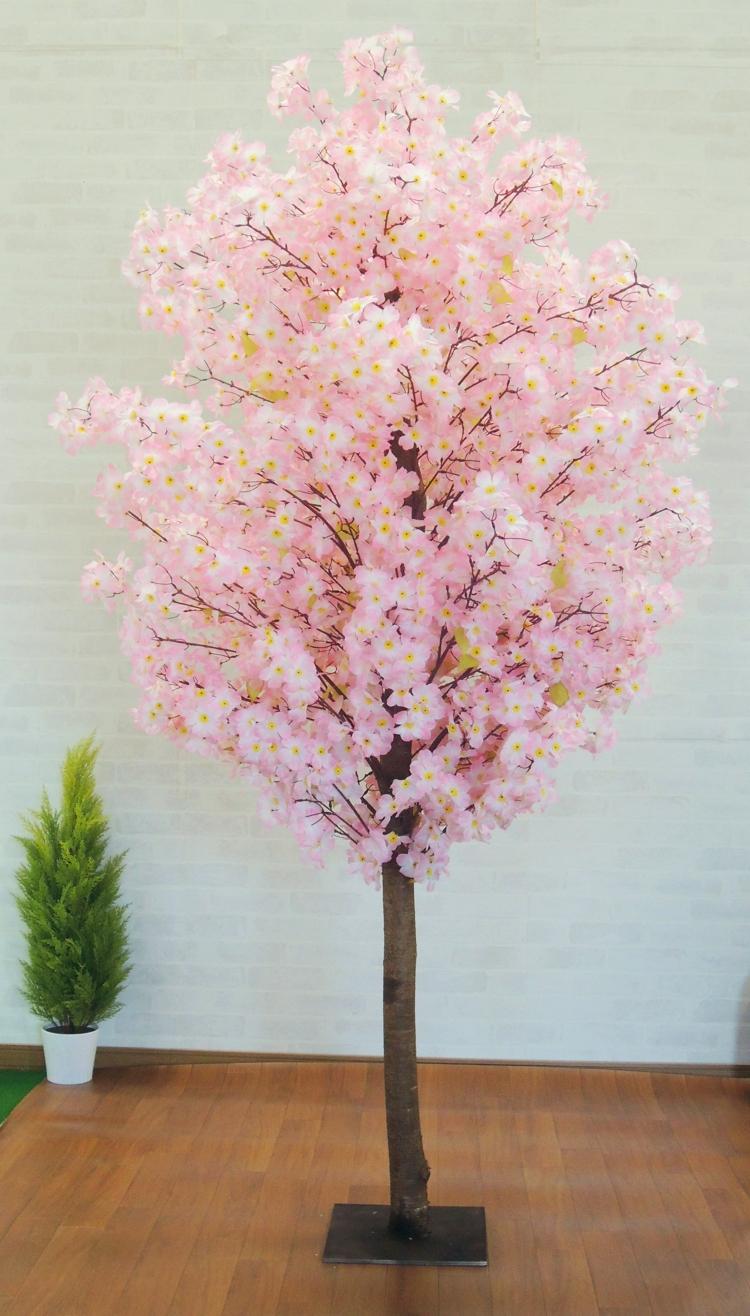 桜 230cm (造花 インテリア 観葉植物 人工 サクラ 店舗装飾)