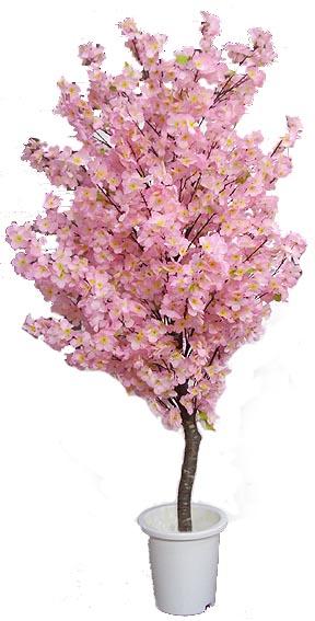 人工観葉植物 造花 インテリア サクラ 春 ディスプレイ ピンク 作り物 210cm 全国どこでも送料無料 桜 当店は最高な サービスを提供します おしゃれ 室内 フェイク 店舗装飾