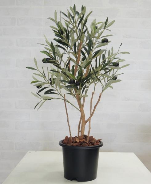 オリーブ高さ60cm(造花 観葉植物 インテリア)