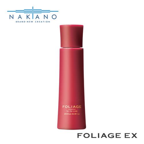 髪をさらに太く 強く 健やかに育てるために 中野製薬 高級な ナカノ フォリッジ スキャルプエッセンス 日本メーカー新品 EX-RD 200ml nakano