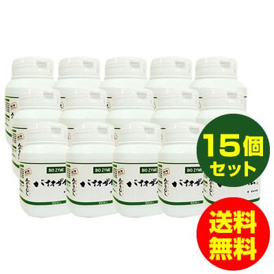 バイオザイム ユーグレナ/ミドリムシ/サプリメント (ローヤルゼリー/コンドロイチン/ビール酵母)100粒入り 15個セット