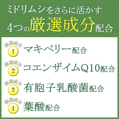 "Euglena supplement / Capsule / Tablet / ""MIDORIMUSHI EMERALD"" [Mede in Japan]"