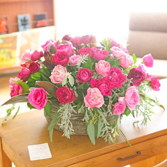 アレンジメントフラワー 就職祝い 高級バラ round型バスケット仕立て(Lサイズ・おまかせミックス)誕生日 お祝い フラワーギフト 結婚祝い 開店祝い 就任祝い 入学祝い 就職祝い 贈り物 フラワーギフト プレゼント お祝い お花 送料無料 メッセージカード無料 あす楽, ペーパーアーツ:95d3c45f --- sunward.msk.ru