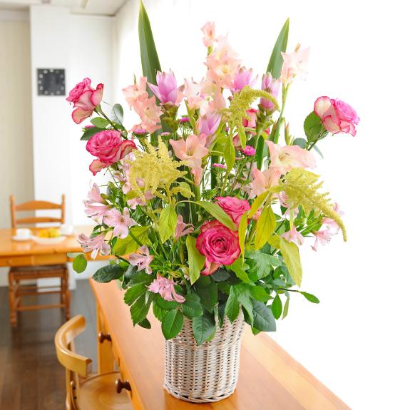 デザイナーズフラワーSサイズ 長寿祝い A tall pink 2万円コース 送料無料【電報(祝電)と祝花がセットのフラワーギフト】誕生日 結婚祝い tall 長寿祝い 新築祝い 開店祝い 退職祝い 贈り物 フラワーギフト プレゼント お祝い お花 送料無料 メッセージカード無料 あす楽, 白馬村:5a3edce6 --- sunward.msk.ru