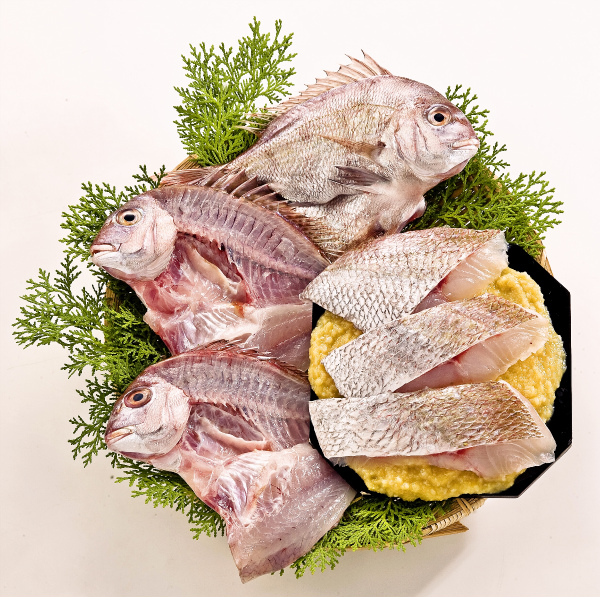 ■真鯛の一夜干し・味噌漬詰合わせ■鯛/タイ/マダイ【干物/珍味/おつまみ】瀬戸内海の新鮮な魚/ままかり・さわら・牡蠣・カキなど種類豊富
