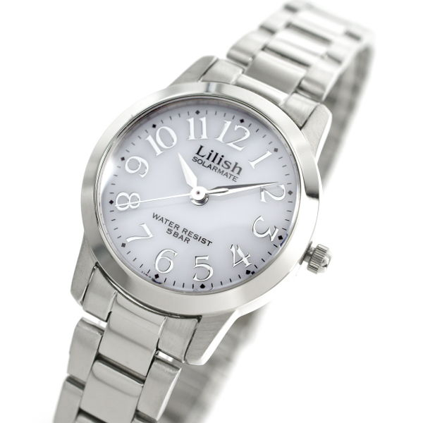 腕時計 レディース CITIZEN シチズン Q&Q LILISH リリッシュ レディース ソーラー 腕時計 H997-900 プレゼント ギフト 入学 就職 お祝い