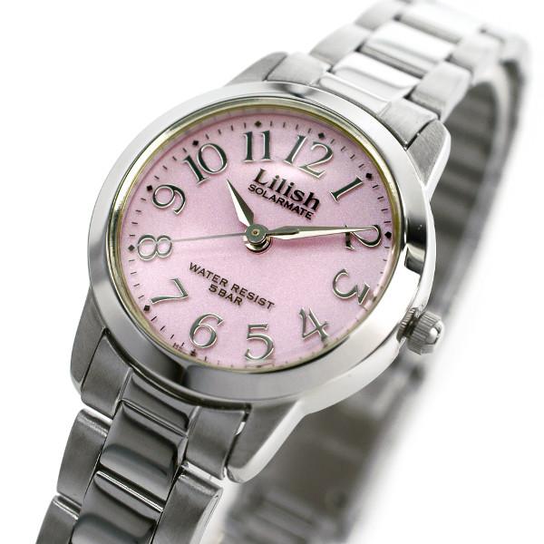 腕時計 レディース CITIZEN シチズン Q&Q LILISH リリッシュ レディース ソーラー 腕時計 H997-901 プレゼント ギフト クリスマス