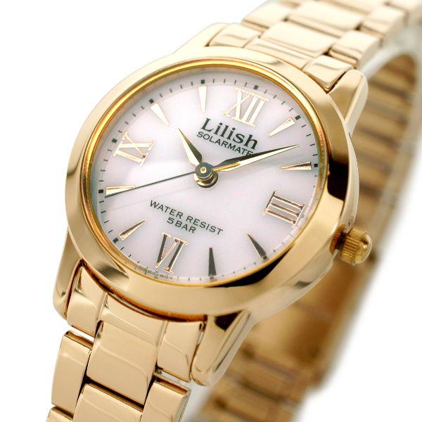 腕時計 レディース CITIZEN シチズン Q&Q LILISH リリッシュ レディース ソーラー 腕時計 H997-903 プレゼント ギフト クリスマス