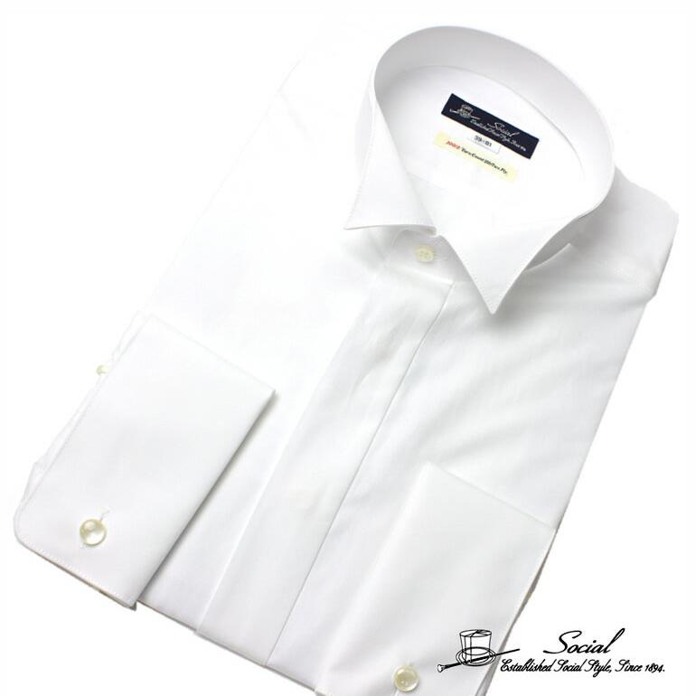 ワイシャツ 礼装 ワイシャツ フォーマル カインドウェア 礼装 メンズ/ACAYJ105W- [ 冠婚葬祭 紳士 ]送料無料 ギフト 入学式 卒業式