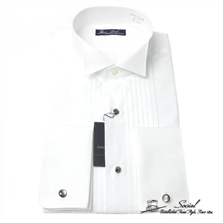 ワイシャツ 礼装 ワイシャツ フォーマル カインドウェア 礼装 メンズ/ACAYJ622W- [ 冠婚葬祭 紳士 ]送料無料 ギフト 入学式 卒業式
