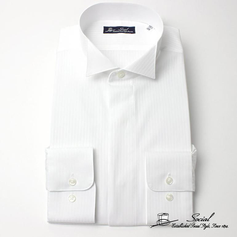 ワイシャツ 礼装 ワイシャツ フォーマル カインドウェア 礼装 メンズ/ACAYJ711W- [ 冠婚葬祭 紳士 ]送料無料 ギフト 入学式 卒業式
