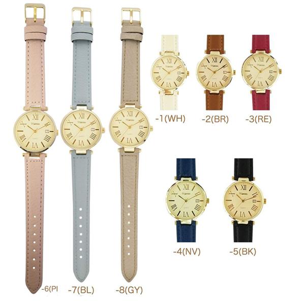 メール便  腕時計 トード レディース メンズ アナログ おしゃれ 人気 カジュアル シンプル 革ベルト