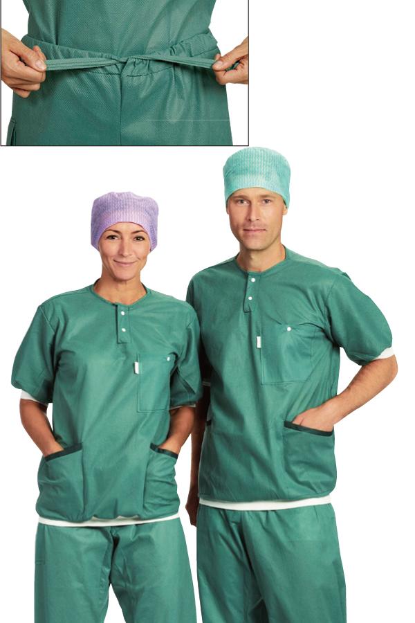 メンリッケヘルスケア 送料無料 バリアー ナースウェア スクラブパンツ 48枚 メンズ レディス 品番20720 ナースグッズ