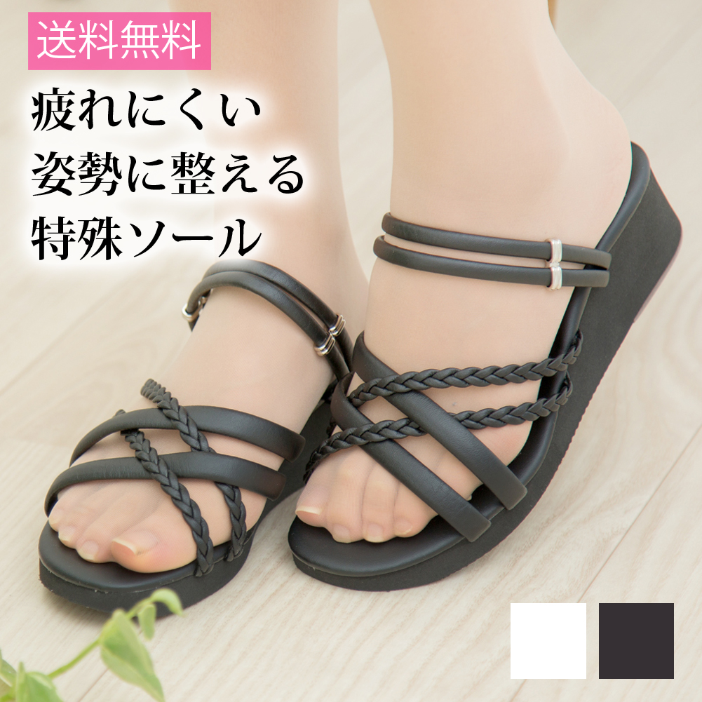 48004493a97bf The size that I eat three knitting multi-sandals black and white Lady s  nurse sandals nurses for cute office nurse shoes office sandals fatigue not  to be ...