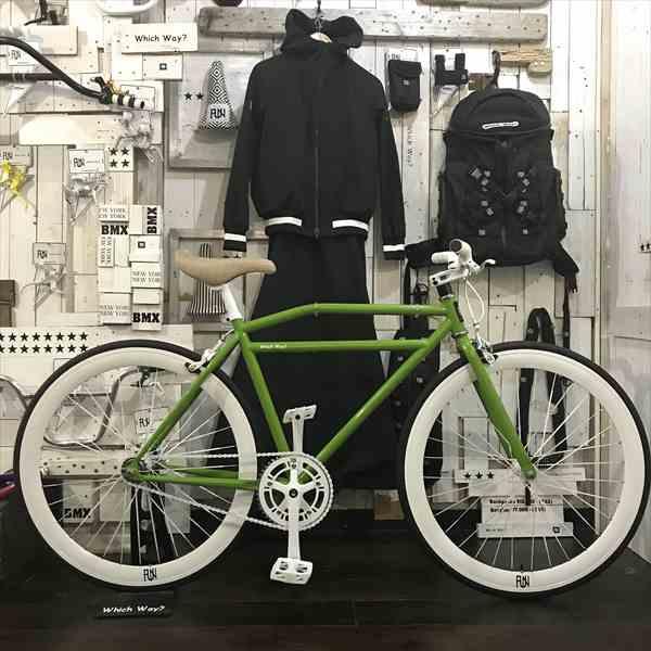 100種類以上!!サドルが選べる ピストバイク完成車モスグリーンシングルスピード[自転車][BMX][ピスト][カスタム][700C][完成車][ロードバイク][23c][タイヤ][フリーギア][ホイール][700][固定ギア][ペダル][ブレーキ]