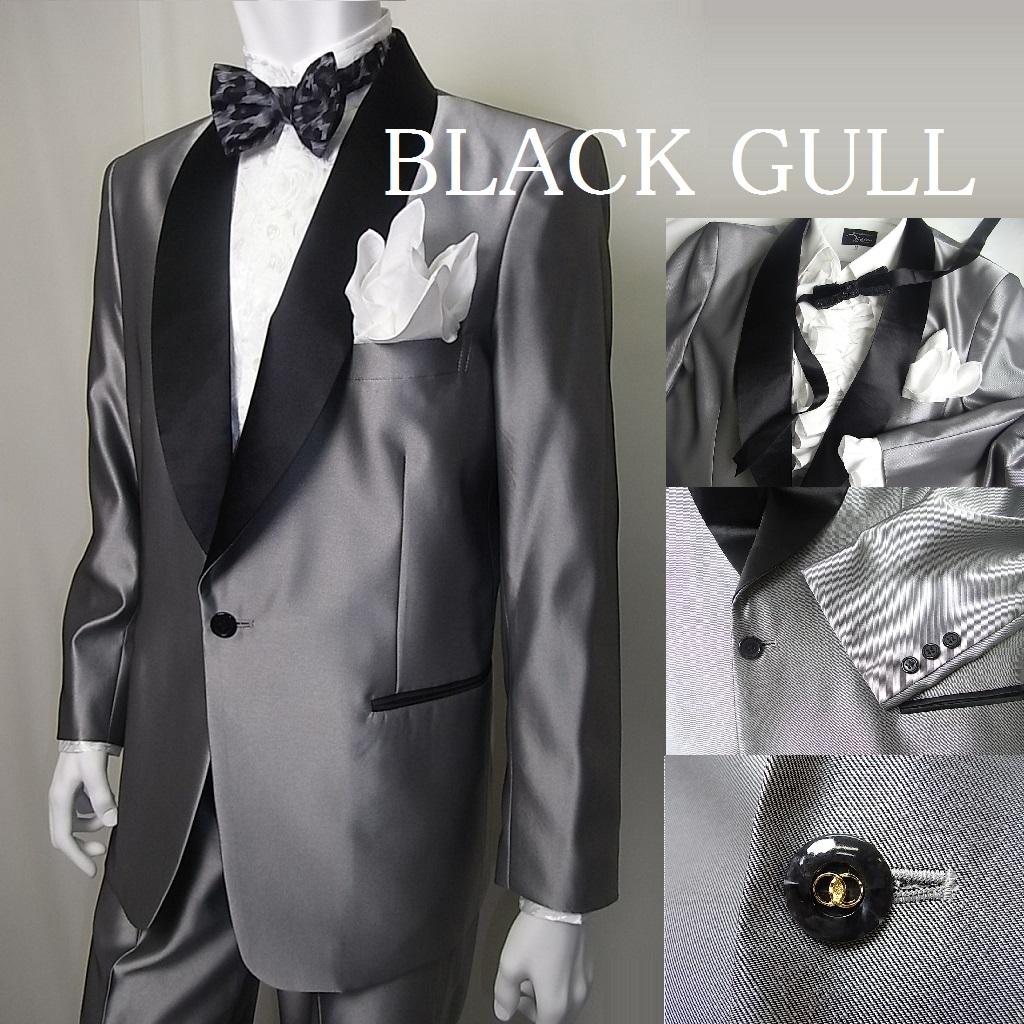【BLACK GULL】メンズ ステージ衣装 コスチュームロック バンド衣装 男性【品番/デザイン】JA-631シャンタン タキシード【送料無料】
