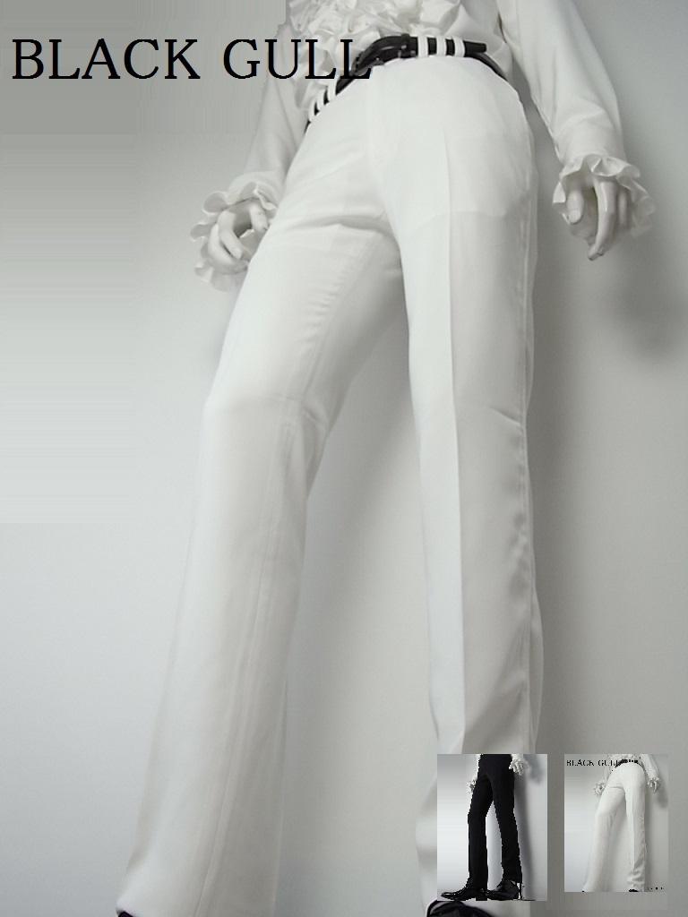 【BLACK GULL】メンズ ステージ衣装 コスチュームロック バンド衣装 男性【品番/デザイン】PN-0010美脚 スマートパンツ【送料無料】