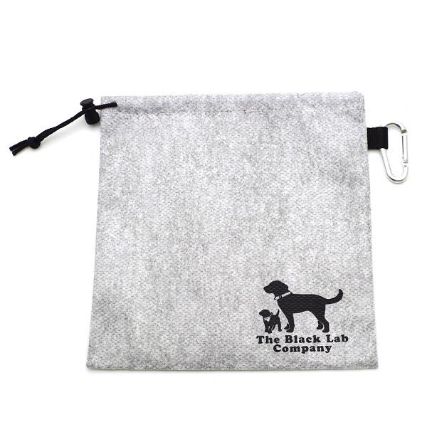 ランキングTOP5 活性炭の働きで 期間限定お試し価格 臭いを吸い取る不織布使用 BLCエチケット袋 Mサイズ カラビナ付き