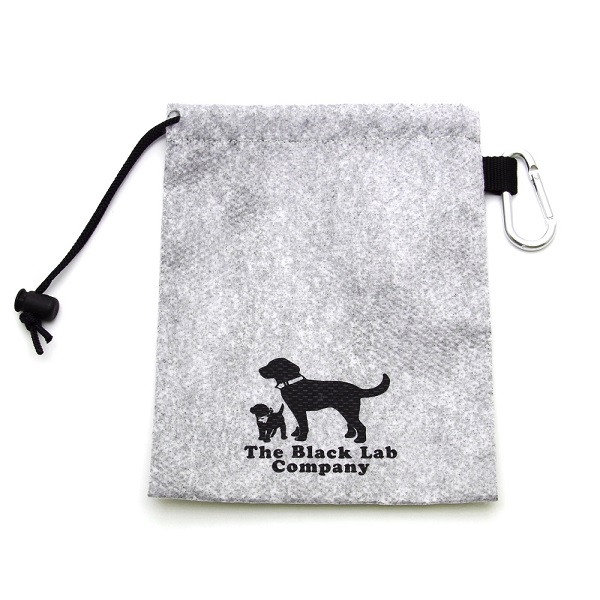 期間限定 活性炭の働きで 臭いを吸い取る不織布使用 BLCエチケット袋 Sサイズ カラビナ付き お得セット
