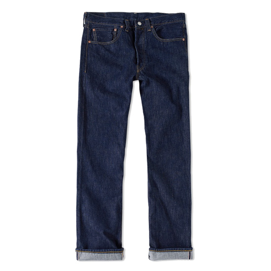 LEVI'S VINTAGE CLOTHING Levis vintage 501XX 1947 model denim underwear jeans indigo blue