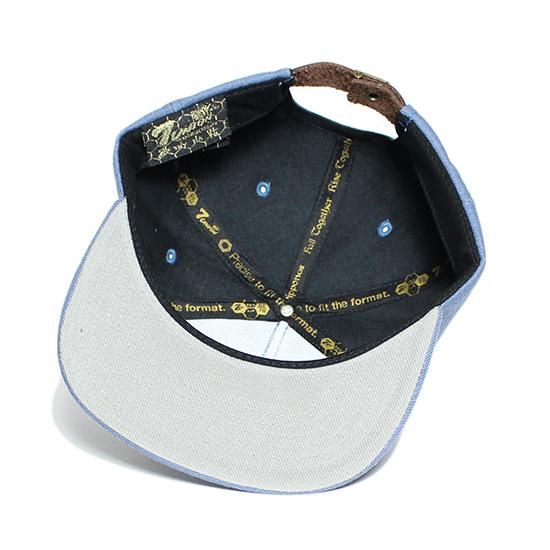 7UNION 7ユニオン 3rd Eye Snapback Cap スナップバック キャップ 帽子ヘザーブルー 7UNION キャップTK5lcu3F1J