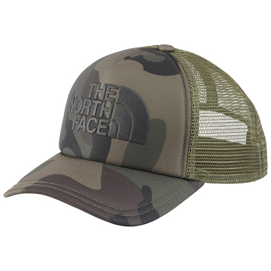 aeaf7a1c7 North Face THE NORTH FACE logo mesh cap Logo Mesh Cap mesh cap hat NN01452  camouflage Woodland duck