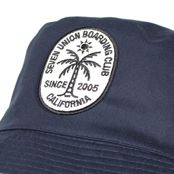 03264e05f03 blackstore  7UNION Hawaiian Reversible Hat IPVW-501 NAVY FLOWER X ...