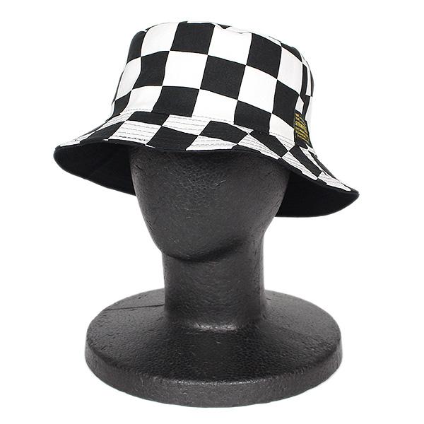 6491913701e blackstore  7UNION Checker Reversible Hat IPVW-502 CHECKER X BLACK ...