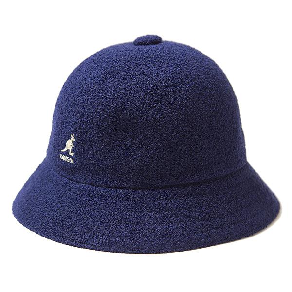 カンゴール ハット KANGOL Bermuda Casual バミューダ カジュアル 帽子 パイル メンズ レディース 男女兼用 NAVY ネイビー
