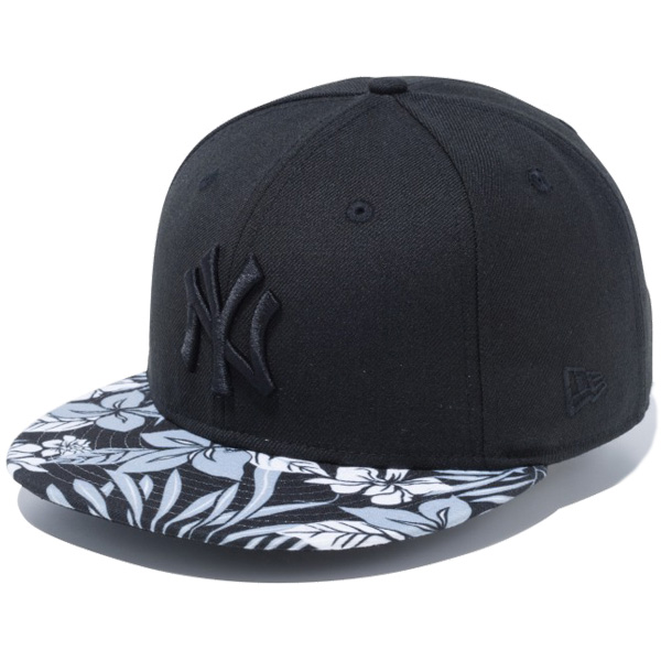 c5a87d723a4 blackstore  New gills snapback cap hat NEW ERA 9FIFTY floral gray ...